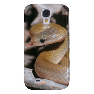 Yellow Bellied House Snake (Lamprophis Fuscus) Galaxy S4 Case