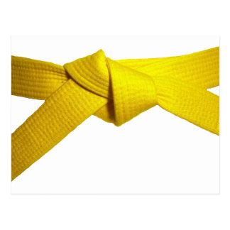 Yellow Belt Postcard