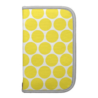 Yellow Big Dot Folio Planners