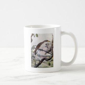 Yellow-billed Cuckoo and Tent Caterpillars Coffee Mug