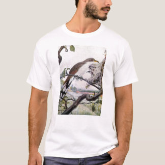 Yellow-billed Cuckoo and Tent Caterpillars T-Shirt