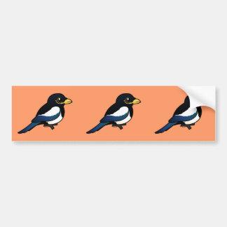 Yellow-billed Magpie Bumper Sticker