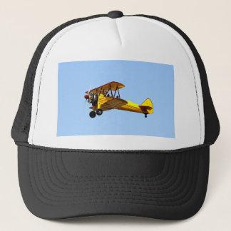 Yellow Biplane Trucker Hat