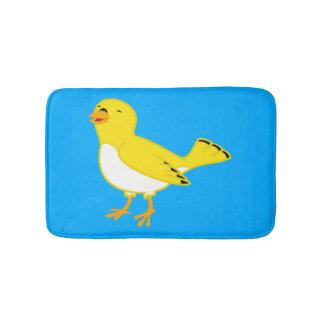Yellow Bird Bath Mat Bath Mats
