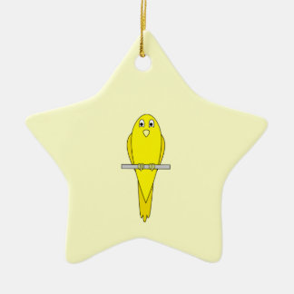 Yellow Bird. Canary. Christmas Ornament