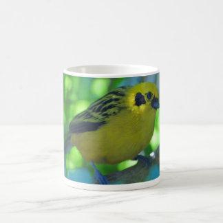 Yellow bird coffee mugs