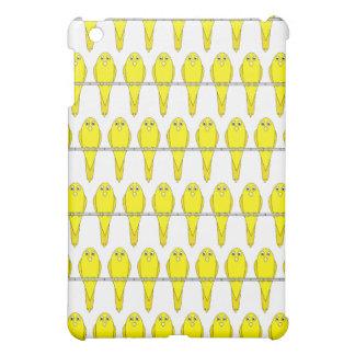 Yellow Bird Pern. Canaries. iPad Mini Cover