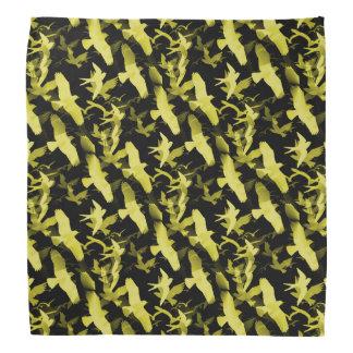 Yellow Birds Bandana