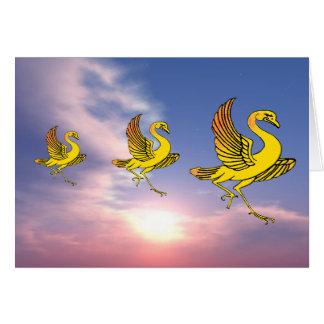 Yellow Birds Card