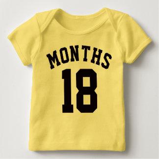 Yellow & Black Baby | Sports Jersey Design Tee Shirts