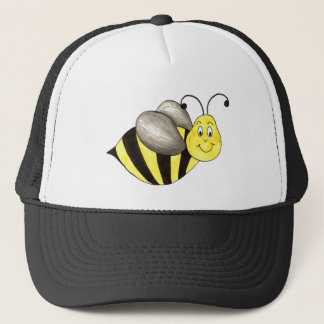 Yellow Black Bumble Bee Bumblebee Insect Buzz Trucker Hat