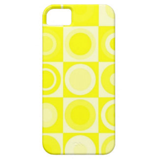 Yellow blank covers Retro iPhone 5 Covers