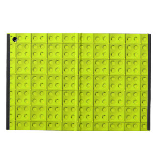 Yellow blocks pattern case for iPad air
