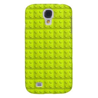 Yellow blocks pattern galaxy s4 case