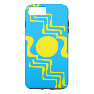 Yellow blue 4u katarina's fave iPhone 8 plus/7 plus case