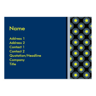 yellow blue black pack of chubby business cards