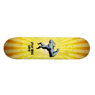 Yellow Bodybuilder Skateboards