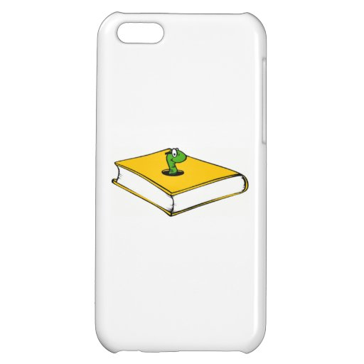 Yellow Book Worm iPhone 5C Cover