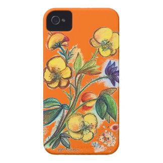 Yellow Bouquet Orange IPhone case