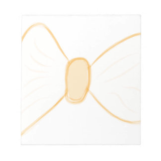 Yellow Bow Notepad