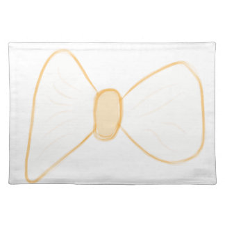 Yellow Bow Placemat
