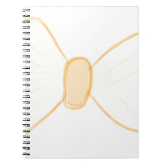 Yellow Bow Spiral Notebooks