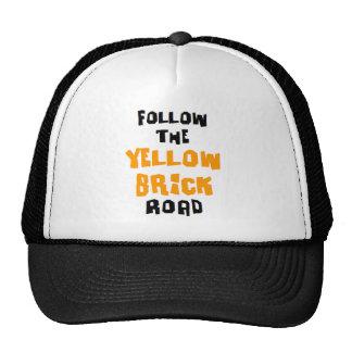 yellow brick road cap