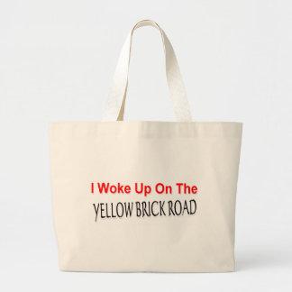 Yellow Brick Road Jumbo Tote Bag