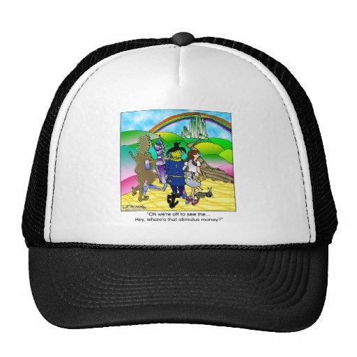 Yellow Brick Road & Stimulus Money Mesh Hats