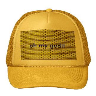 yellow bricks, oh my god! hat