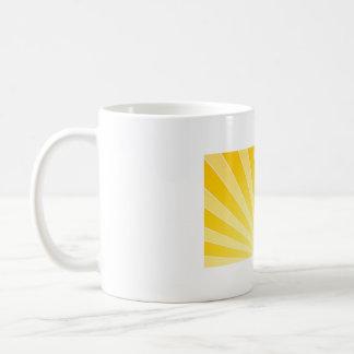 Yellow Bright Light Beams Coffee Mug
