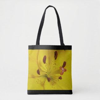 Yellow bright tote bag