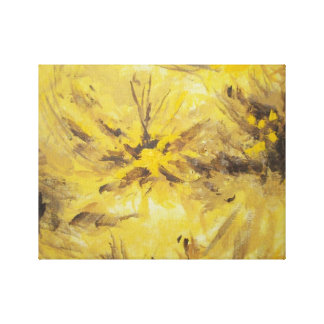 Yellow, Brown and Anything You Want Canvas Print