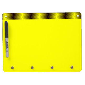 Yellow-brown zigzag board