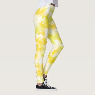 Yellow Bubble Leggings