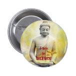 yellow buddha, I am inSILENCE Pins