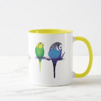 Yellow Budgie Bird Parrot Mug