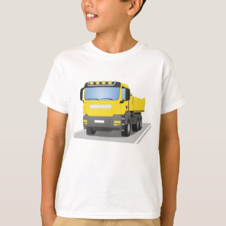 yellow building sites truck T-Shirt