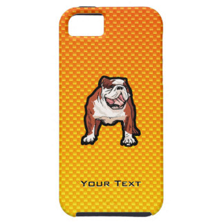 Yellow Bulldog iPhone 5 Cover