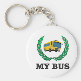 yellow bus my key ring