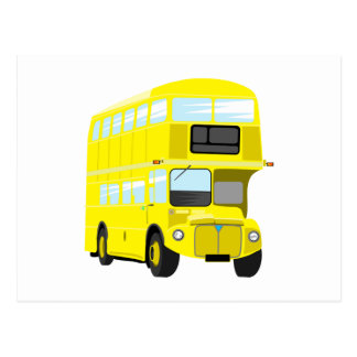Yellow Bus Postcard