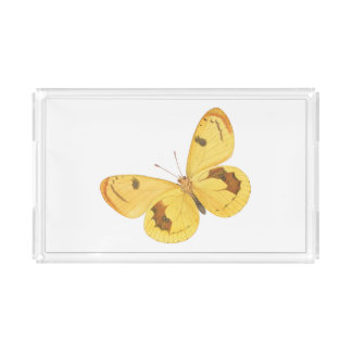 Yellow Butterflies - Vanity Tray
