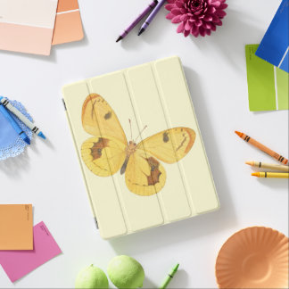 Yellow Butterfly - iPad Cover