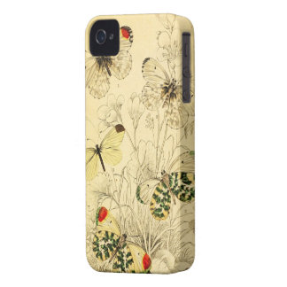 Yellow Butterfly iPhone 4 Case-Mate Case