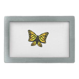 """""""Yellow butterfly"""" Rectangular Belt Buckle"""