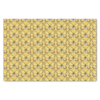 Yellow Butterfly Tissue Paper