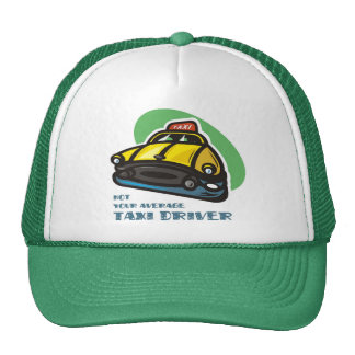 Yellow cab cartoon: Not your average taxi driver Cap