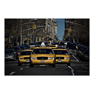 Yellow Cab Charge Poster
