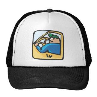 Yellow cab driver hat