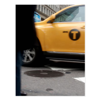 Yellow Cab New York City Post Cards